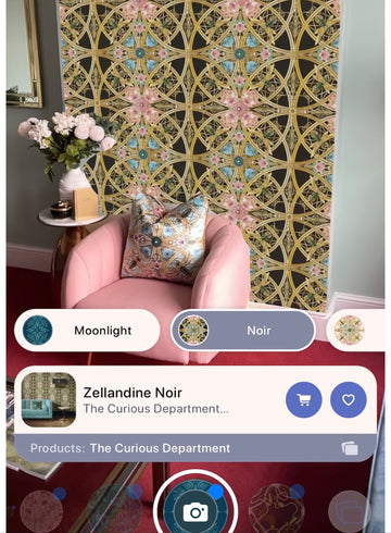 Visualise our wallpapers with Primer's augmented reality!