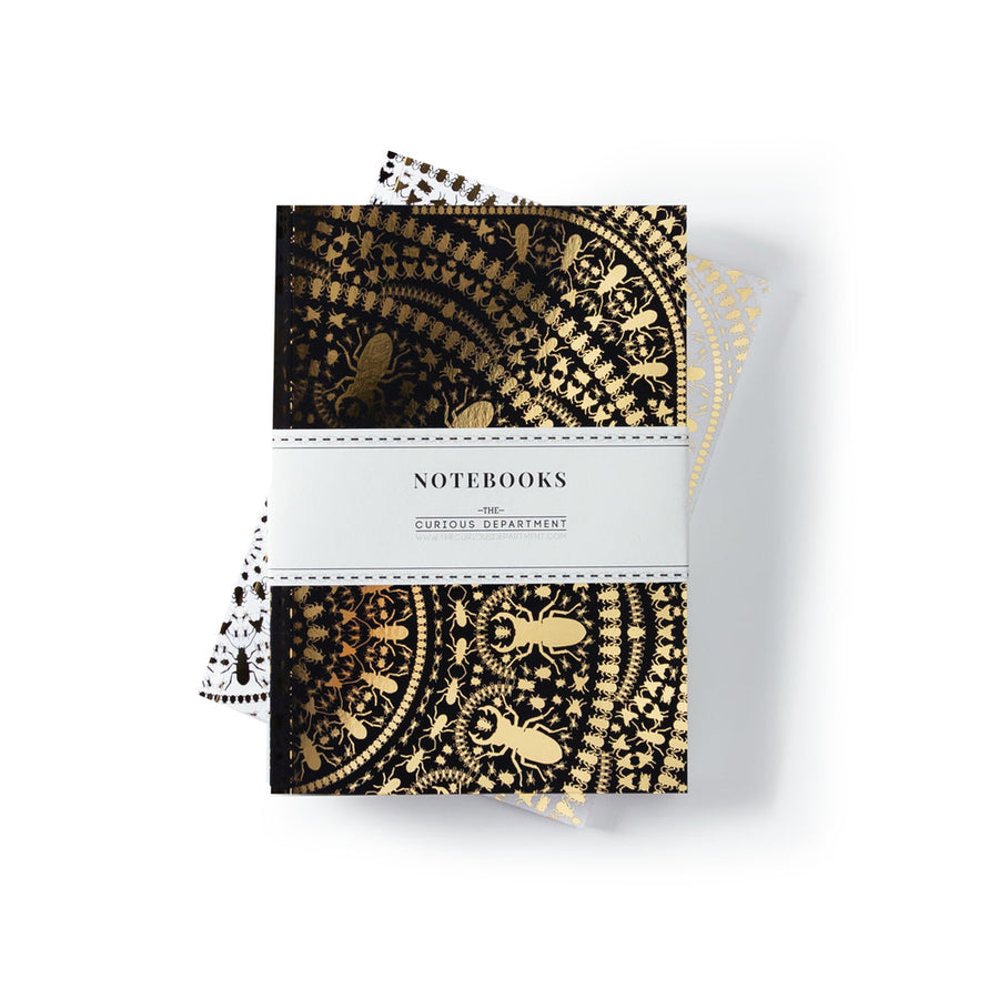 INSECT MANDALA Notebook: set of 2