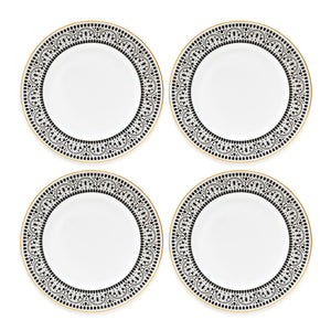 "INSECT MANDALA: 10"" Dinner Plate (set of 4)"