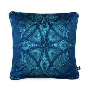 ZELLANDINE MOONLIGHT: velvet cushion