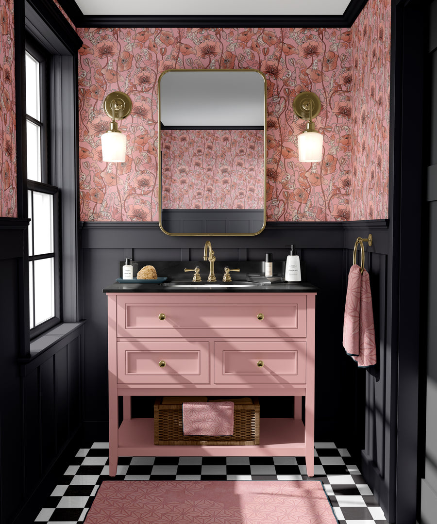OPIUM BLUSH PINK: Wallpaper