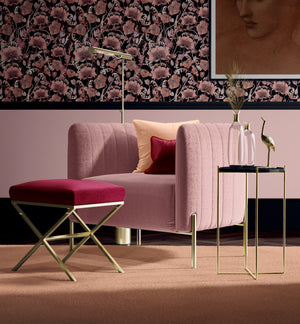 OPIUM BLUSH BLACK: Wallpaper
