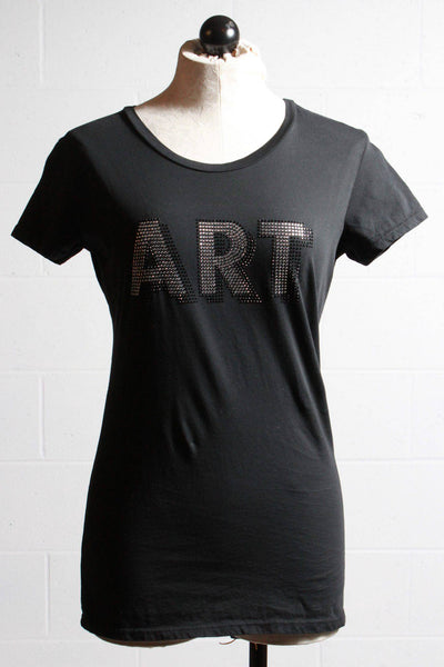Brand Bazar Art Tee Shirt Black ART 752 - Inspire Me