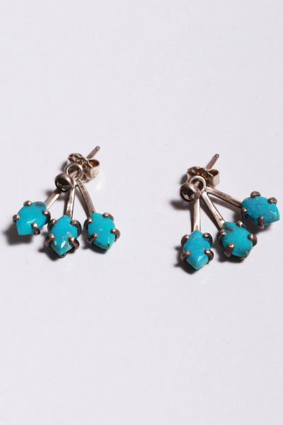 Chan Luu Ear Jacket Earrings Turquoise EG-4770 - Inspire Me