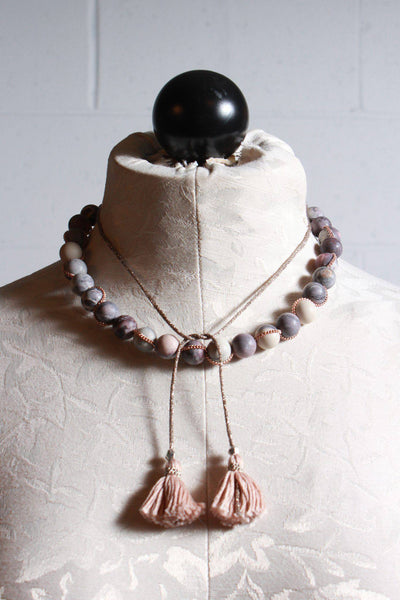 Chan Luu Adjustable Necklace Matte Jasper NSZ-13658 - Inspire Me