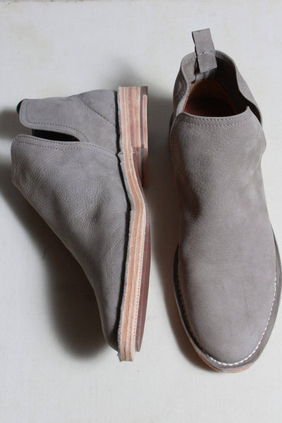Charleston Shoes Suede Ankle Boot Gray FEDERAL - Inspire Me
