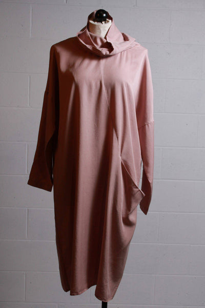 European Culture Long Sleeve Dress Adobe Rose 10M03011-W9-1848 - Inspire Me