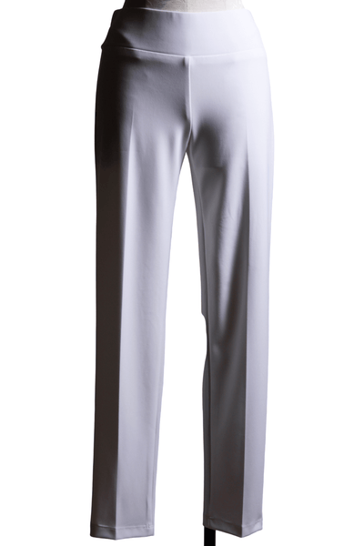 Frank Lyman Pull-On Knit Pant Off-White 082 - Inspire Me