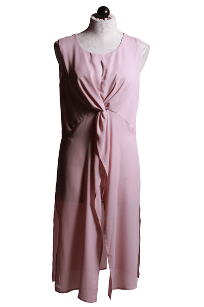 Frank Lyman Long Sleeveless Tunic Blush 201272 - Inspire Me