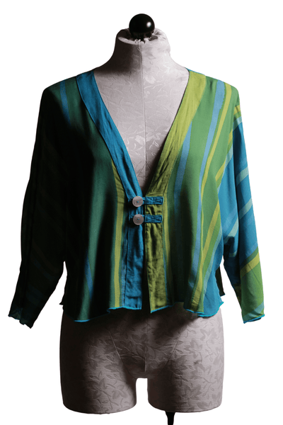 Iguana Venus Jacket Turquoise Ombre G5098A - Inspire Me