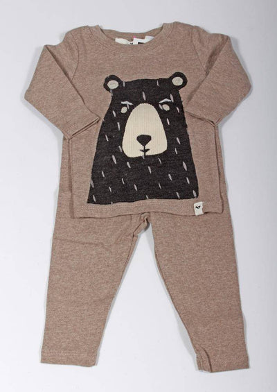 Oh Baby! Black Blizzard Bear Two Piece Set 2010A - Inspire Me