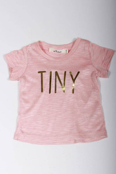 Oh Baby! Tiny T-Shirt in Dusty Pink 4060P489-62 - Inspire Me