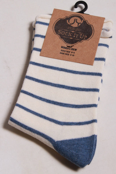 Oooh Yeah Socks Painter Stripes Socks WJ6005C - Inspire Me