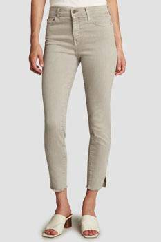 Principle Denim Gem Cropped Jean Sandstone 505 - Inspire Me