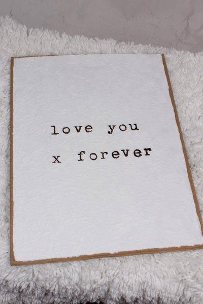 Sugarboo Designs Love You x Forever Print HP111 - Inspire Me