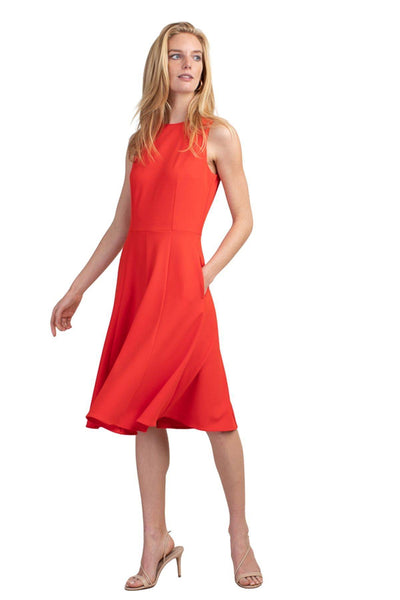 Trina Turk Bacall Dress Persimmon 2007360CK1 - Inspire Me
