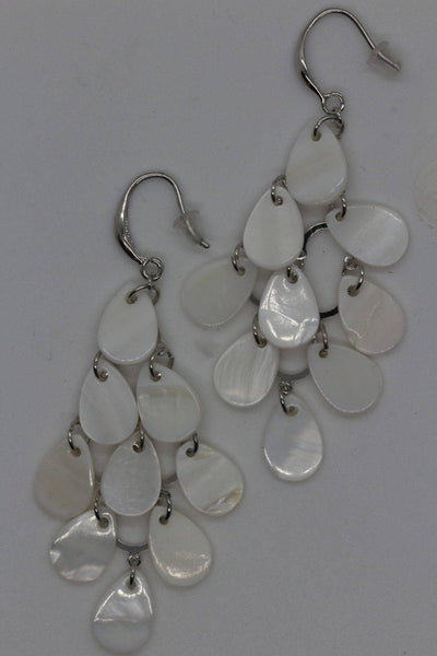 Twos Company Mother of Pearl Earrings 100031-20 - Inspire Me