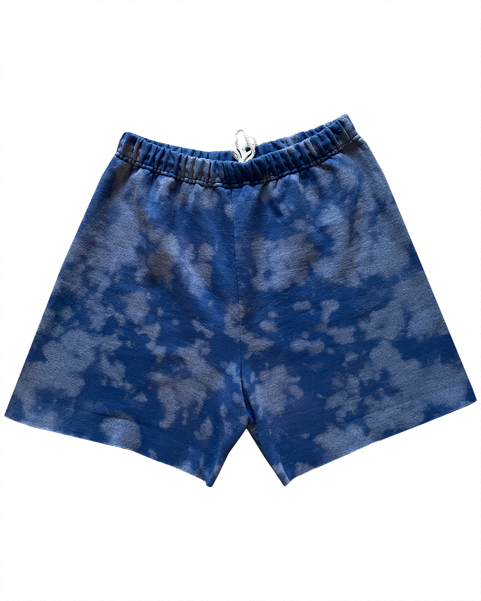 BLUE ANTI SWEAT SHORTS - MADE TO ORDER