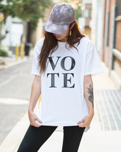 Load image into Gallery viewer, VOTE T-SHIRT - IN WHITE