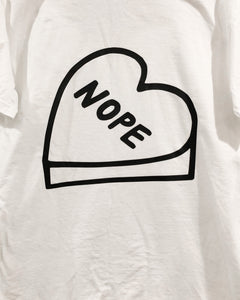 NOPE Candy Heart Tshirt