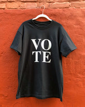 Load image into Gallery viewer, VOTE T-SHIRT - IN BLACK