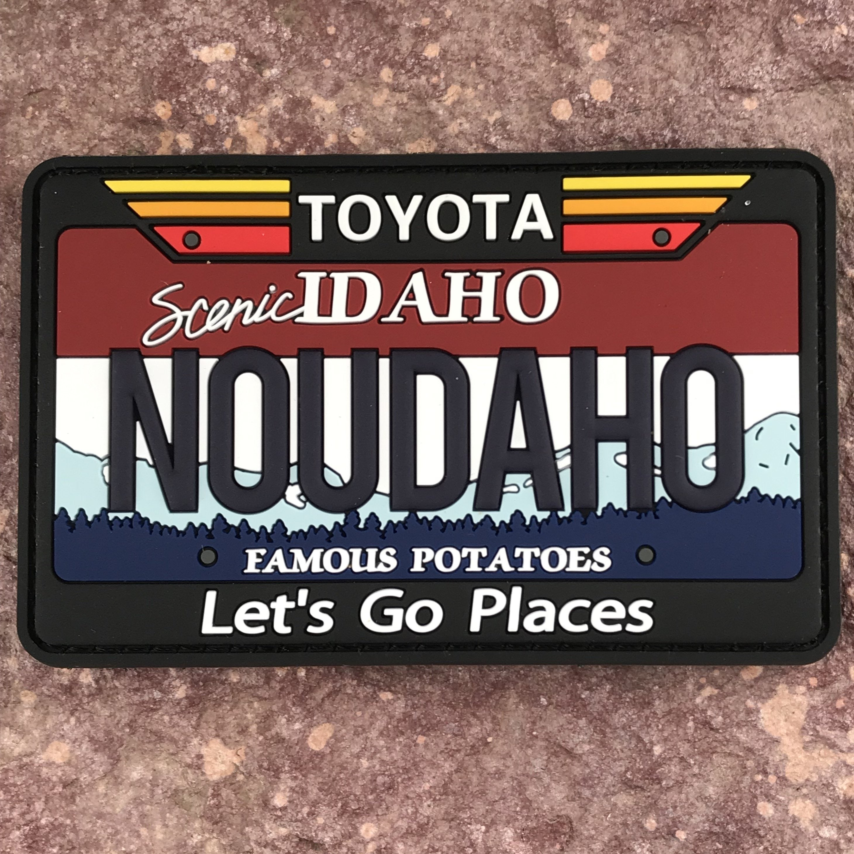 Nevada Collectible License Plate PVC Patch