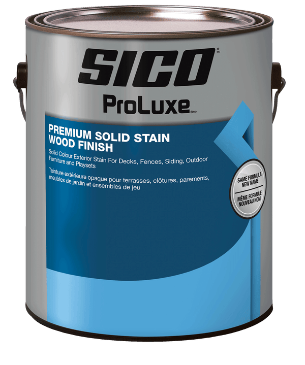 SICO® ProLuxe Premium Solid Stain