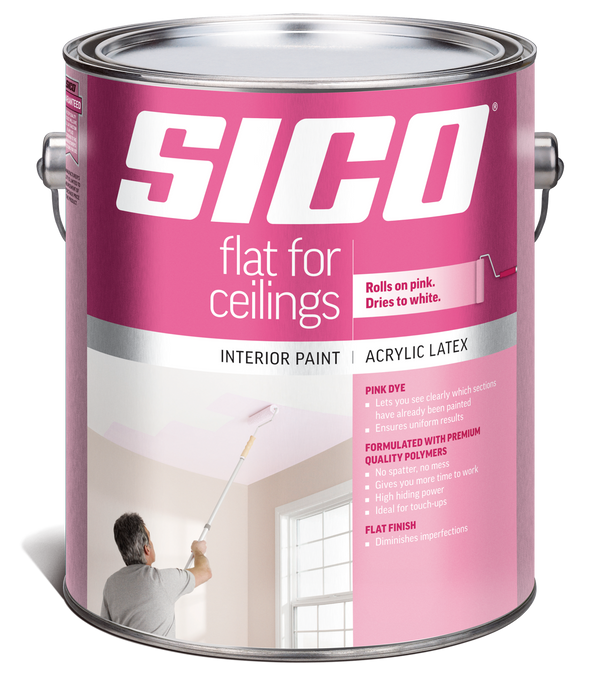 SICO® Ceilings Paint with Pink Dye Interior Paint