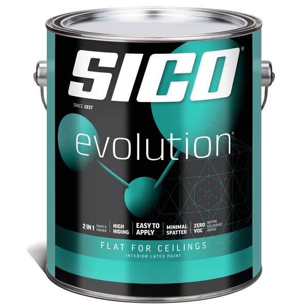 SICO® Evolution® Flat for Ceilings Interior Paint