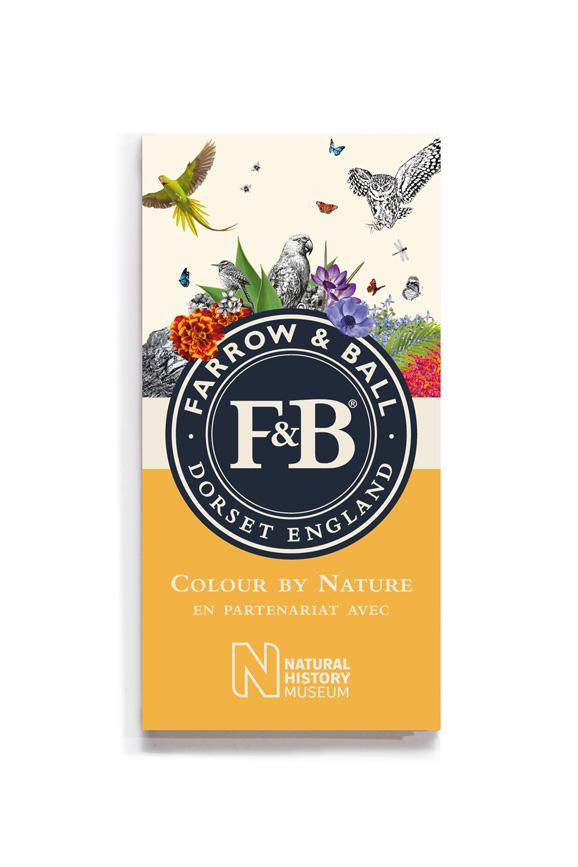 Colour by Nature Colour Card - French Canadian