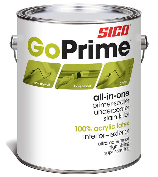 SICO® GoPrime® All-In-One Primer Interior and Exterior
