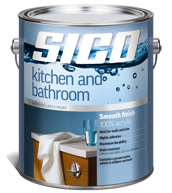 SICO® Kitchen and Bathroom Interior Paint
