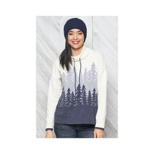 Load image into Gallery viewer, Parkhurst - Thalia Tree Pullover - Denim