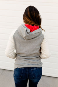 Ampersand & Avenue - Doublehood sweatshirt- Fair and Square