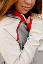 Load image into Gallery viewer, Ampersand & Avenue - Doublehood sweatshirt- Fair and Square