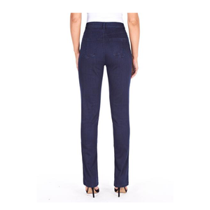French Dressing Jeans - Pant - Peggy - Petite Straight Leg  - Style 8627250 color Pleasant