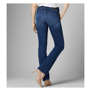 Jag Jeans - Ruby - Mid Rise - Straight Leg Ankle color Brilliant Blue