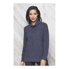 Load image into Gallery viewer, Parkhurst - Miller Slouchy Pullover Sweater - Blue