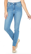 Load image into Gallery viewer, FDJ - 8705630 - PETITE Suzanne Slim Leg - color Chambray