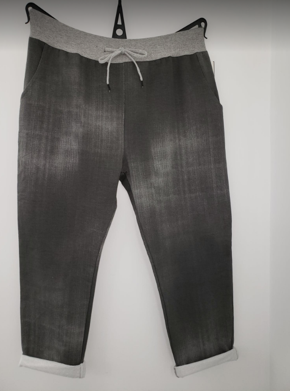 JOGGERS - PANTS - Regular One-Size