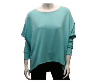 Gilmour - 1010 BAMBOO French Terry Sweatshirt - Color Tiffany