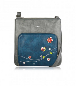 Accessories - LIBRE Messenger Bag - color Blue