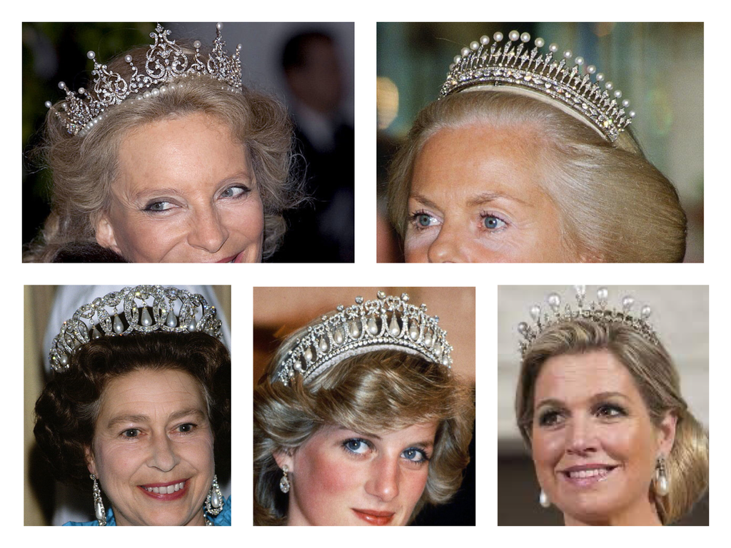 The Significance of Pearls in Tiaras