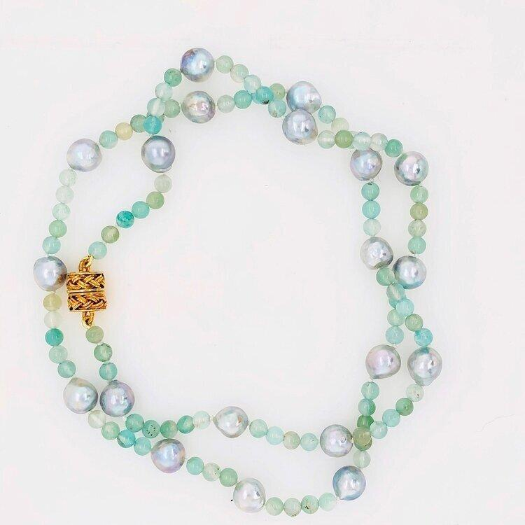 What are Blue Akoya Pearls?