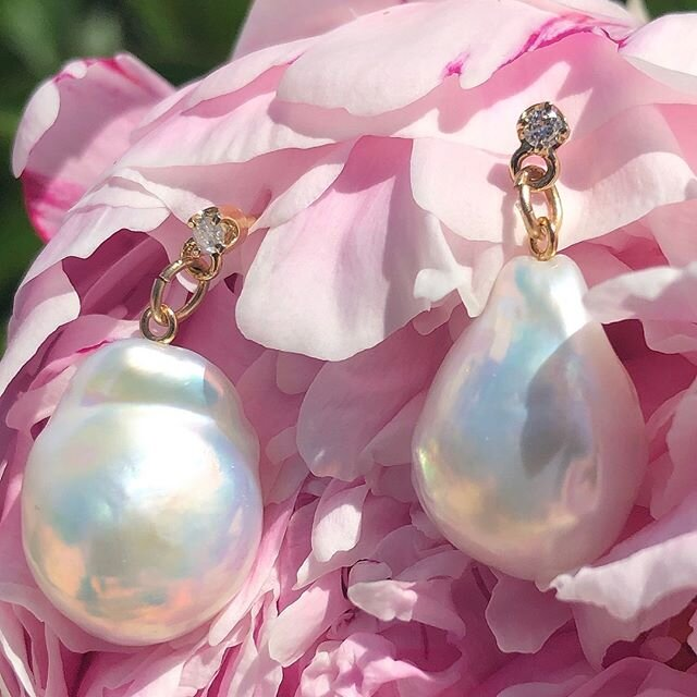 Baroque Pearls drop off of Diamonds