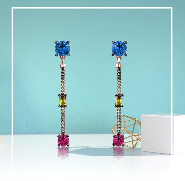 Sterling Drop Earrings - gonatag