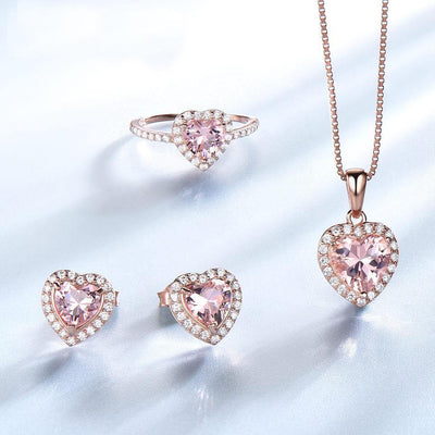 Romantic Heart Set for Women - gonatag