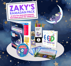 ⭐THE ULTIMATE ZAKY & FRIENDS PACK 🎁