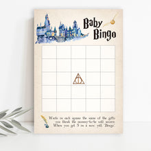 Load image into Gallery viewer, Harry Potter Baby Bingo Game | Harry Potter Game Printable
