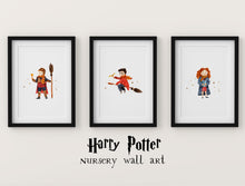 Load image into Gallery viewer, Set of 3 Harry Potter Nursery Decor